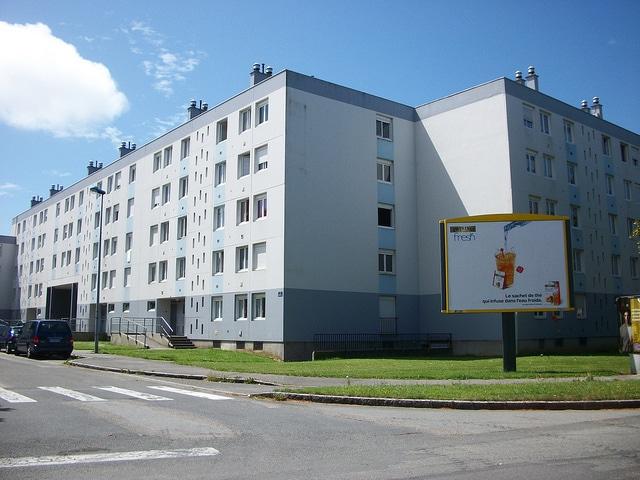 Quartier HLM de Kérourien