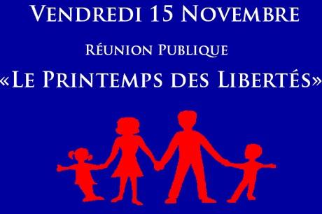 Béatrice Bourges en conférence à Nantes le vendredi 15 novembre [audio]