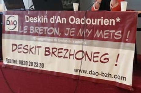 Un colloque sur l'enseignement du Breton aux adultes s'est tenu le 9 novembre