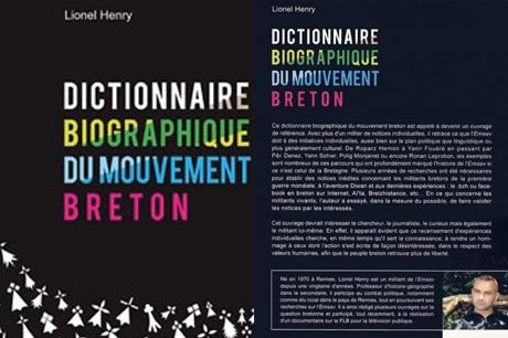 Dictionnaire biographique du mouvement breton, par Lionel Henry : un livre mitigé