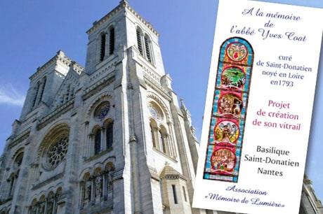 Un nouveau vitrail pour se souvenir des Noyades de Nantes
