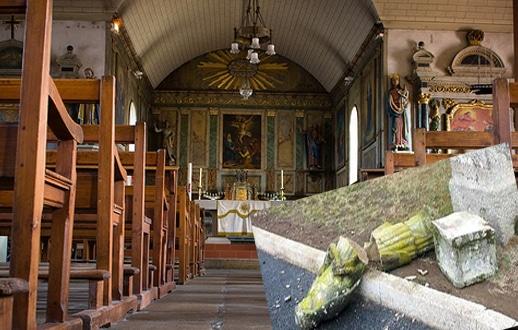 Dégradations à Melrand et dans le Morbihan : les catholiques visés ?