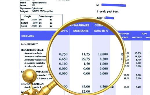 2 salariés sur trois ont reçu une mauvaise fiche de paie en décembre