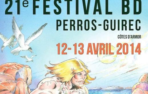 Perros-Guirec. Festival de la BD les 12 et 13 avril