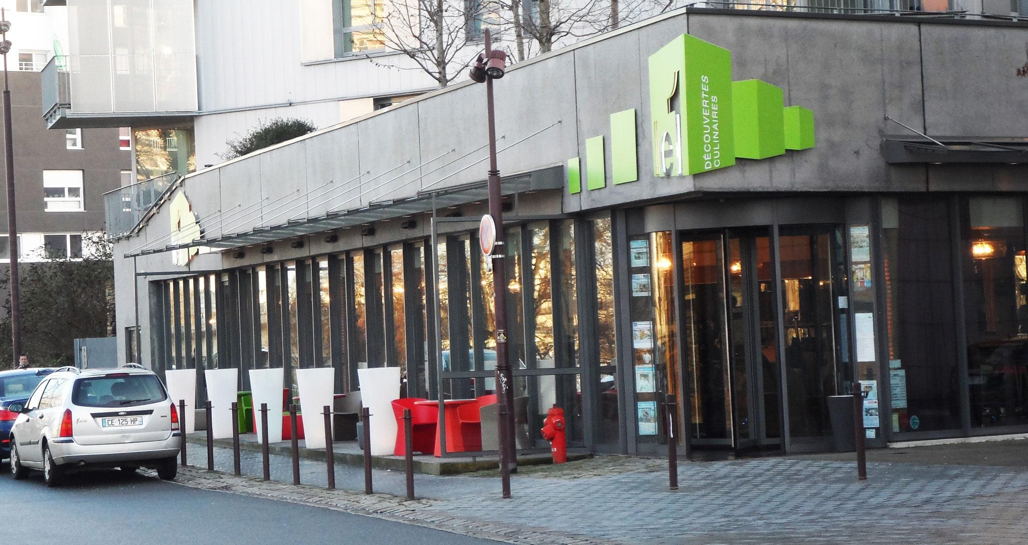 Le 1, pour déjeuner face à la Loire en plein Nantes