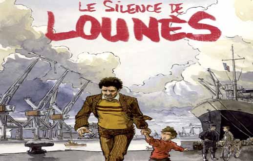 Le silence de Lounès [ chronique bande dessinée ]