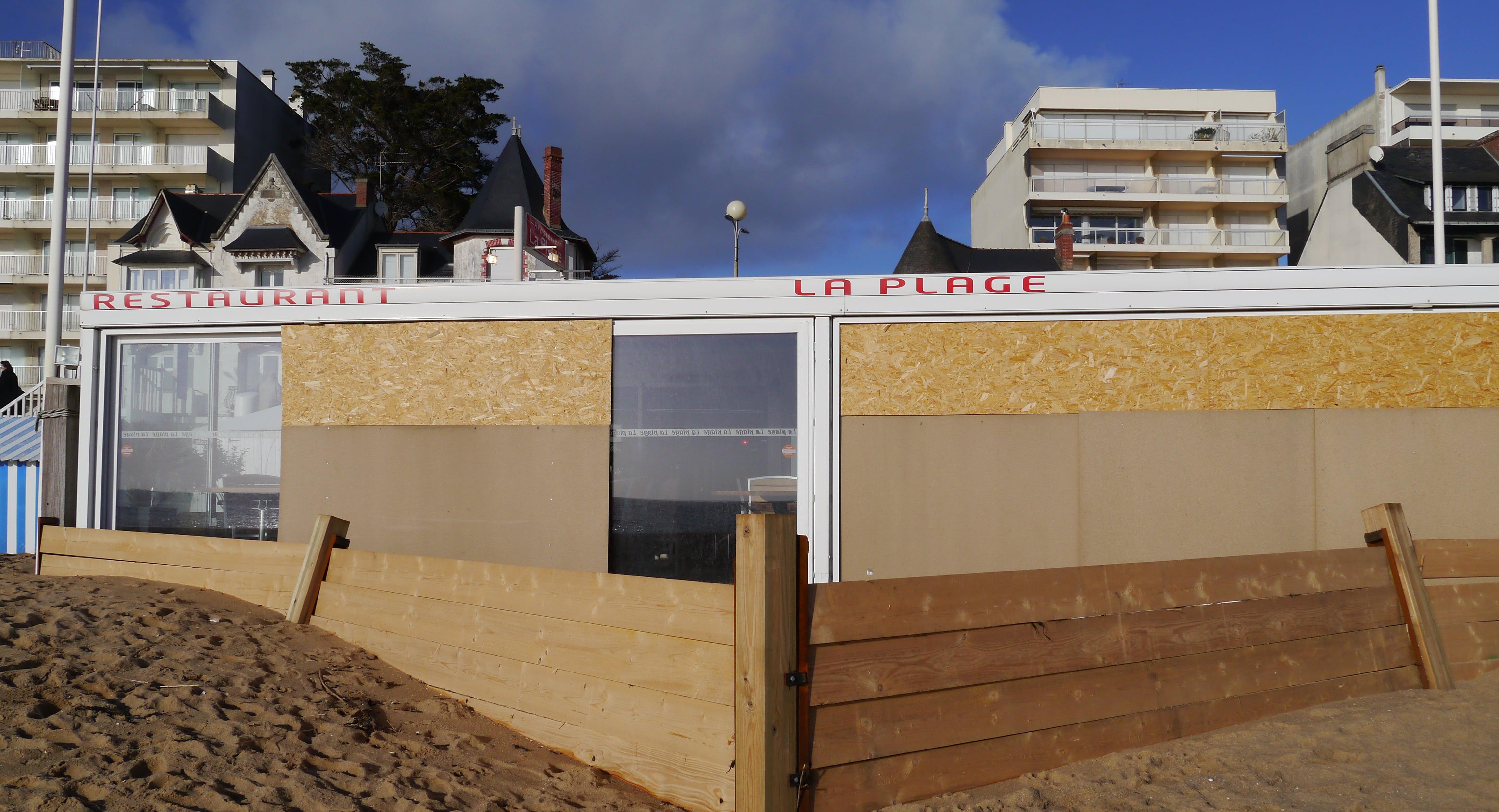 Catastrophe pas naturelle sur la plage de La Baule