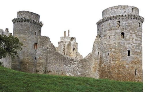 Château de la Hunaudaye : bientôt un film en 3D