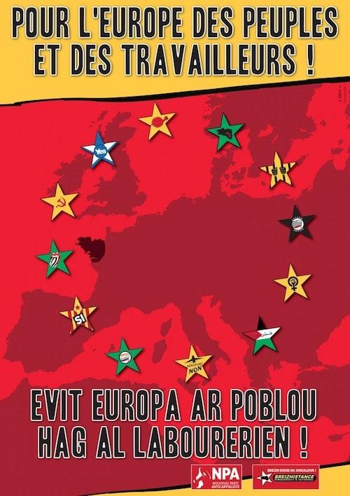 Européennes : Breizhistance s'allie à l'extrême-gauche française (NPA)