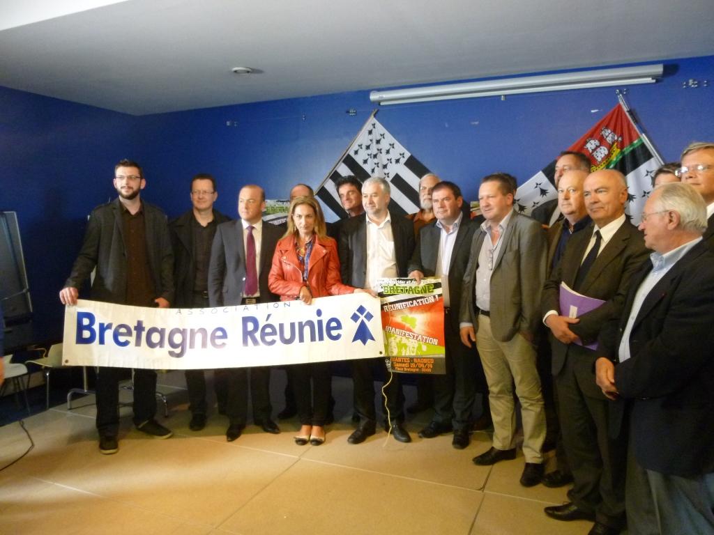 Redécoupage régional : la région Centre pour la réunification bretonne