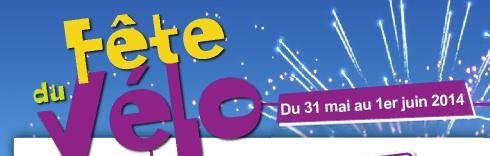 Fête du Vélo en Bretagne les 31 mai et 1er juin