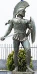 Statue de Léonidas à Sparte