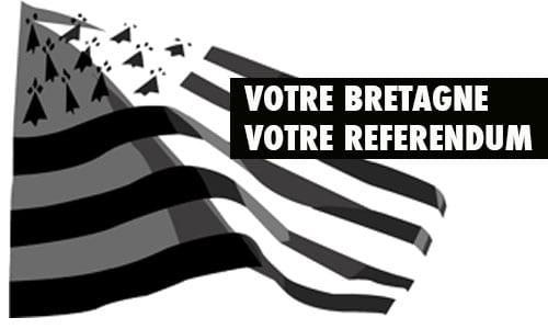 Pétition pour un référendum sur la réunification de la Bretagne