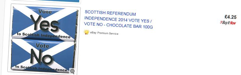Les petites affaires du référendum écossais