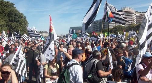Nantes. Incontestable succès pour la manifestation en faveur de la réunification
