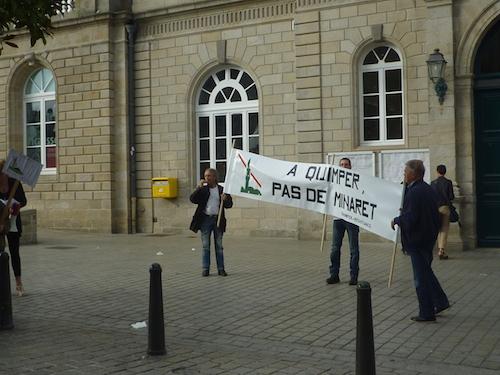 Mosquée turque. Ludovic Jolivet a reçu Quimper Résistance