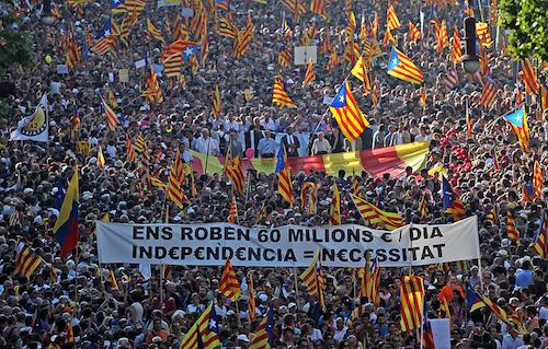 Rennes. Rassemblement de soutien à la Catalogne, samedi 23 septembre