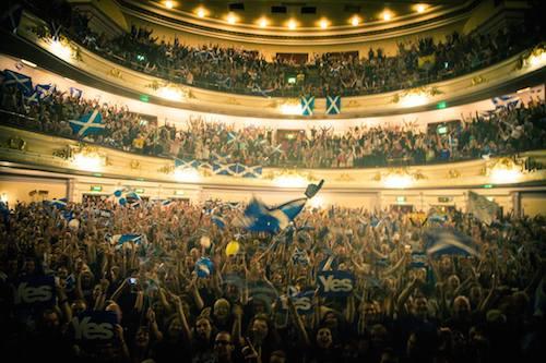 Ecosse : de nombreux «peoples» soutiennent l'indépendance