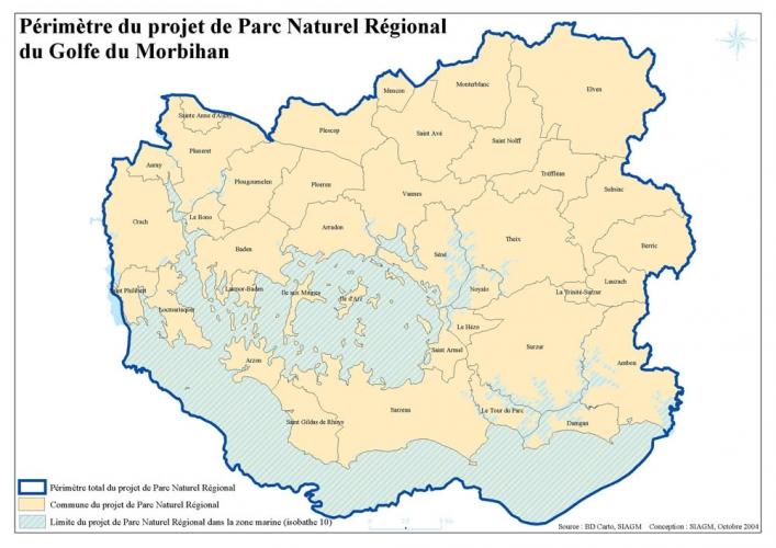 Le Parc naturel régional du Golfe du Morbihan est né
