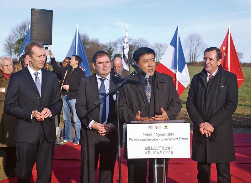 Carhaix, tête de pont de la Chine en Bretagne