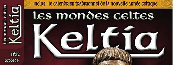 Sortie du 32ème numéro de Keltia Magazine