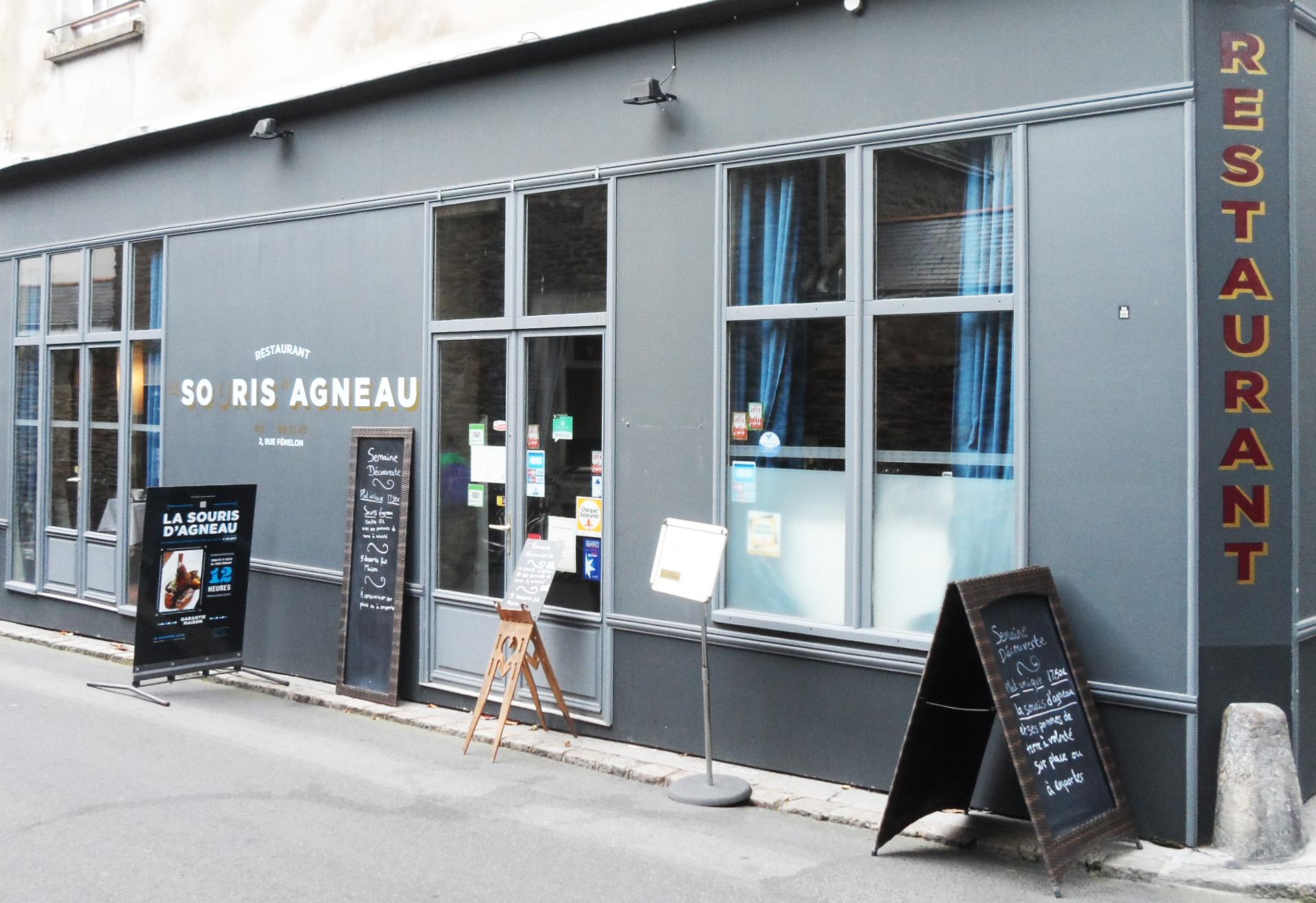 Si vous aimez la souris d'agneau, une adresse à Nantes