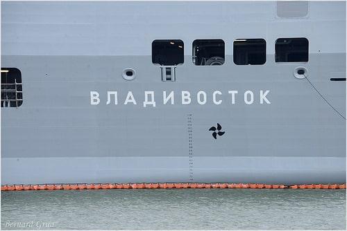 Départ du Vladivostok. <em>Breizh-info </em>était (très) bien renseigné