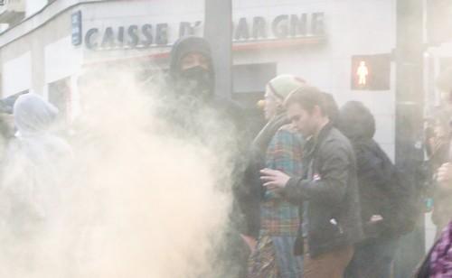 Nantes. Nombreux heurts à la fin de la manif «contre les violences policières»