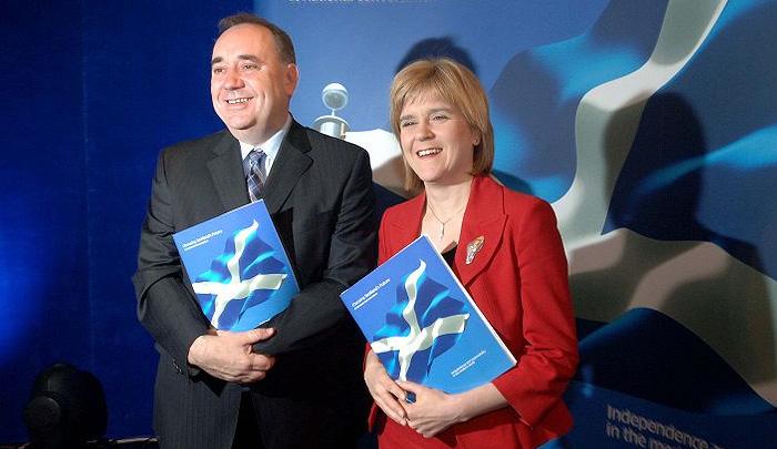Nicola Sturgeon, nouvelle présidente du Scottish National Party
