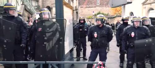Rennes. 400 gendarmes et policiers pour 300 manifestants