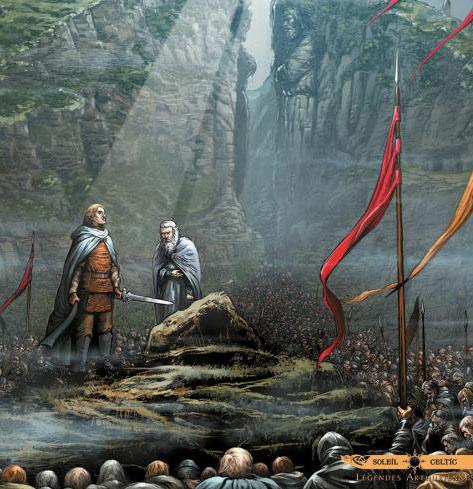 <em>Merlin</em>, la légende arthurienne en bande dessinée