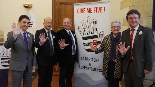 Châteaugiron (35). Les ténors de l'UDI bretonne lancent « Give Me Five ! »
