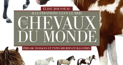 «Tous les chevaux du monde», un livre d'Elise Rousseau et de Yann Le Bris