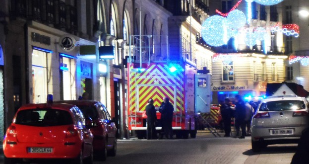 Les pompiers étaient présents en nombre...