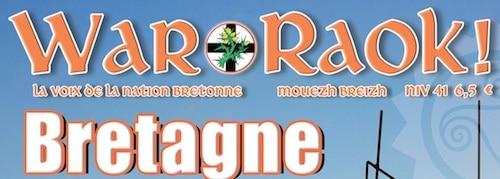 Sortie du 41ème numéro de la revue War Raok