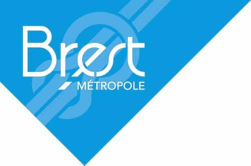 Brest métropole logo
