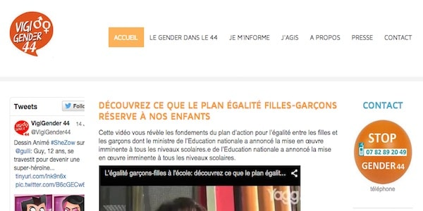 Nantes. Lancement de Vigi gender 44