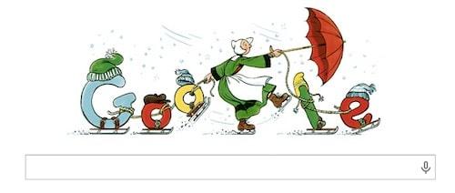 Google met Bécassine – cliché d'une Bretagne arriérée – à l'honneur.