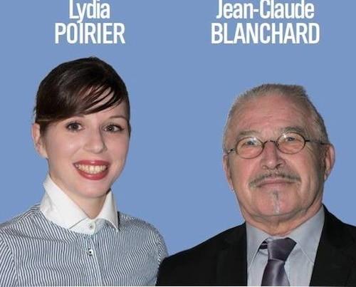 Sant-Nazaire 2. Jean-Claude Blanchard et Lydia Poirier représenteront le FN