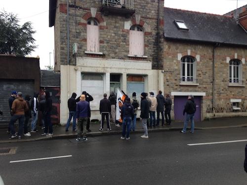 Rennes. Manifestation de soutien à Maryvonne Thamin, victime de squatteurs
