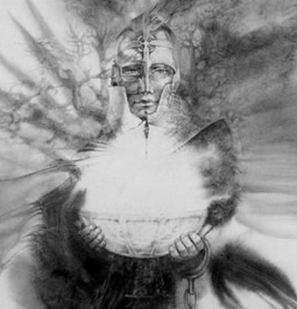 « Le chevalier du Graal », Paul Dauce (Centre de l'imaginaire arthurien)