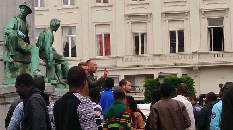 Bruxelles. Laurent Ozon fait face à la violence d'immigrés.