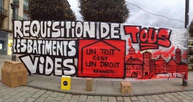 Rennes. Quand le Dal35 appelle publiquement à signaler les logements vacants