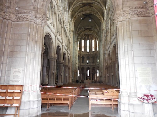 Saint-Donatien à Nantes : le feu a endommagé les voûtes, les experts au chevet de la basilique [diaporama]