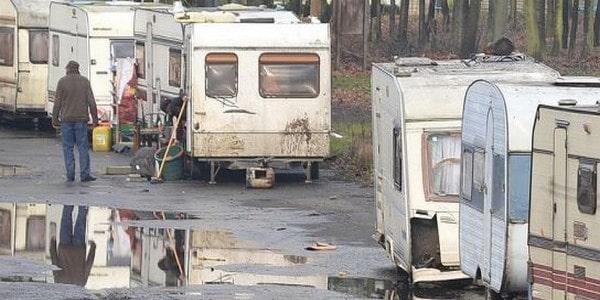 Des roms à Sainte-Luce, un nouveau squat de migrants à Rezé