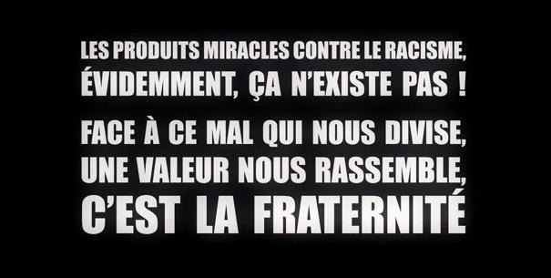 «Osons la fraternité». Pour France Télévisions seuls les Blancs sont racistes…