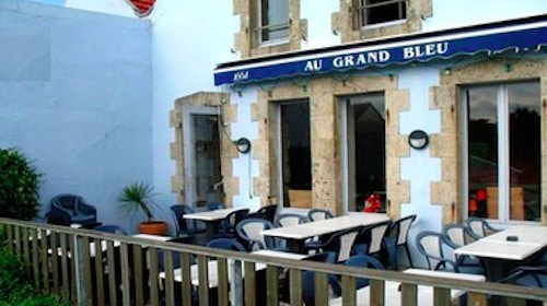 clohars carno t coup de coeur du mois le restaurant au grand bleu. Black Bedroom Furniture Sets. Home Design Ideas