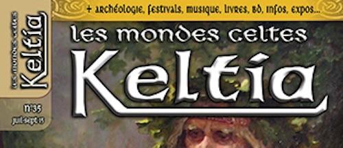 Sortie de Keltia n°35 : des druides aux sorciers