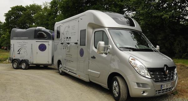Dinard. La société d'ambulance de Luc Tacher se lance dans le transport pour chevaux.