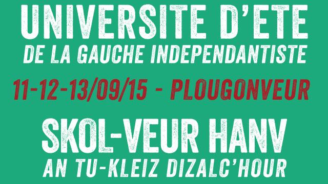 Plougonver (22). La gauche indépendantiste annonce son université d'été pour septembre